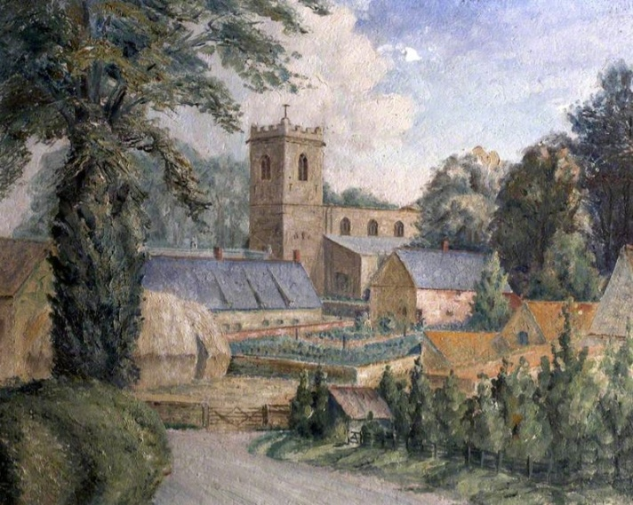 A Lincolnshire Church, by W. Dodd (1949) (National Trust)