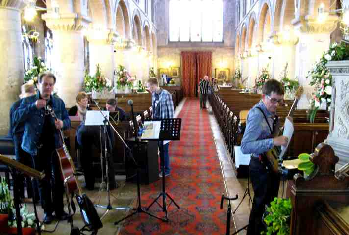 Long Sutton Church band