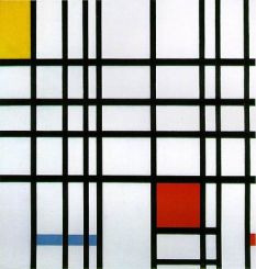 Composition with Yellow, Blue and Red by Piet Mondrian (1872 - 1944) (Tate, Wikipedia)