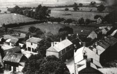 Moulton seen from the church tower 1