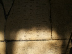 Gedney Church, floor