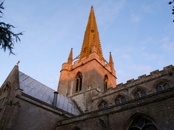 Gosberton tower and spire