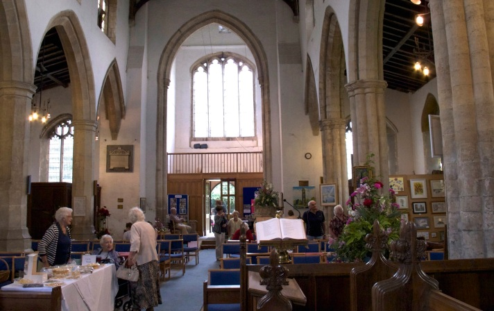Wyberton Church, Art and Flowers Festival, June 2014