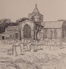 Algarkirk Church, Frederick L. Griggs, 1914
