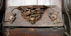 Boston Church misericords 2