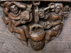 Boston Church misericords 3