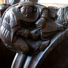 Boston Church misericords 5