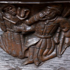 Boston Church misericords 7