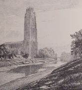 Boston Stump from N.W., Frederick L. Griggs, 1914
