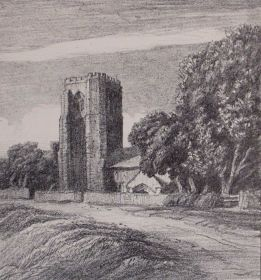 Cowbit Church, Frederick L. Griggs, 1914