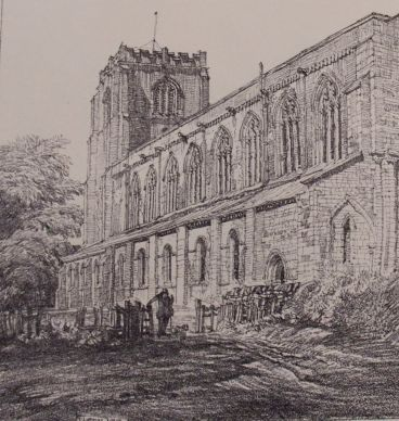 Freiston Priory Church, Frederick L. Griggs, 1914