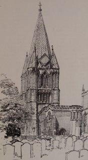 Long Sutton Church, Frederick L. Griggs, 1914