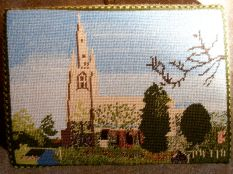 Swineshead church kneeler 01