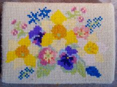 Swineshead church kneeler 03