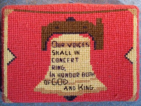 Swineshead church kneeler 04