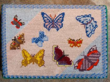 Swineshead church kneeler 06