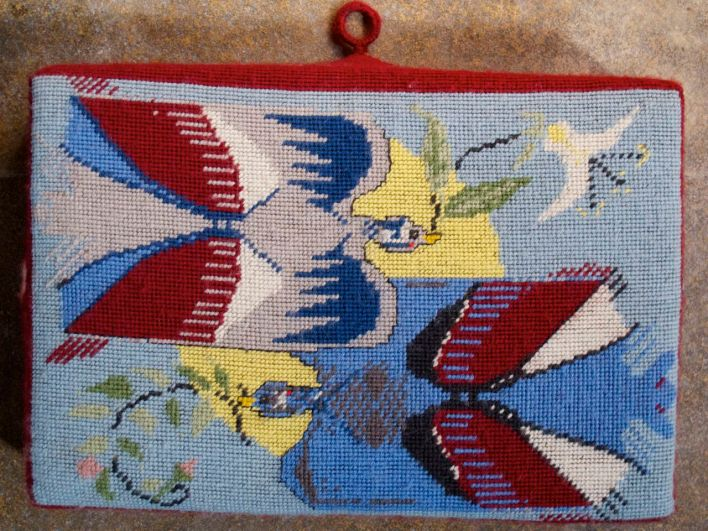 Swineshead church kneeler 07