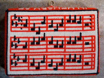 Swineshead church kneeler 09