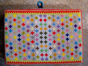 Swineshead church kneeler 10