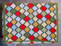 Swineshead church kneeler 11