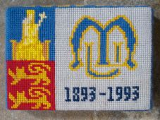Swineshead church kneeler 13