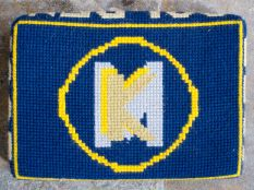 Swineshead church kneeler 14