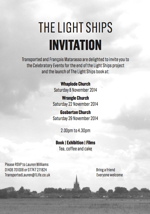 The Light Ships Invitation